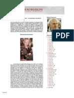 Déclaration de Maria Poumier - Commentaire de Robert Faurisson
