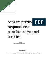 Raspunderea Penala a Persoanei Juridice8