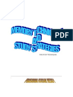Memory Techniques & Strategic Learning