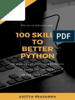 100 Skills to Better Python