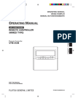 MANUAL FUJITSU GENERAL LIMITED