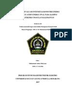 Cover Makalah Manajemen Energi Listrik UTS