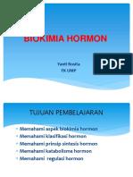 K7 - Biokimia Hormon 2016