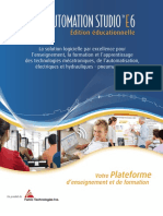 3-Automation Studio - Educational Brochure - Fran Ais