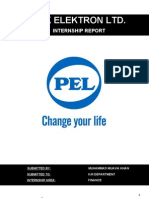 Pak Elektron Ltd. (Pel). Internship Report to Hr Dept. 02