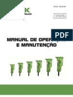 Manual de Operação e Manutenção Rompedor Hidráulico All Work - COLOR
