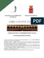 Lirica Di Fine Estate