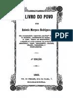 Antônio Marques Rodrigues - O Livro Do Povo