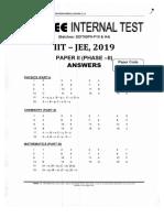 Ph 2 Paper 2 Answer Key for Sdit79p9 p10 Sdit79h4 Batches