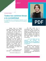 """""""Todos los caminos llevan a la contabilidad"""", 2º premio de Las Cuentas Cuentan 2017"""