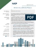 IOP PUCP. 2015. Encuesta de Prevención de Desastres