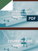 Teorema de Green Rotacional y Divergencia