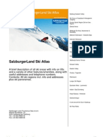 SalzburgerLand Ski Atlas en