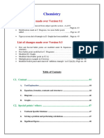 Chemistry Guidelines