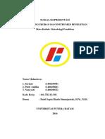 Metodologi Penelitian SAP 8