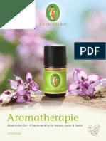 Primavera-Aromatherapie Brochure - De