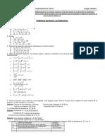 2015-16 Trabajo de Verano Matemáticas 2º Eso