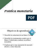 318385143 Politica Monetaria Ppt