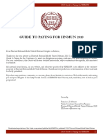 HNMUN 2018 Guide to Paying