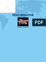 Peace Mediation – Finland's Guidelines
