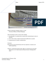 Guidelines to Write a Scientific Paper
