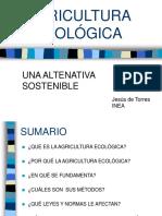 Agricultura Ecológica. Presentación Ppt-AGRICULTURA ECOLÓGICA
