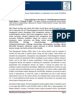 """IQ4I Research & Consultancy published a new report on """"Fluid Management Systems Global Market  – Forecast To 2023"""""""