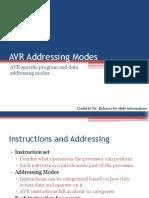 Avr Addressing Modes