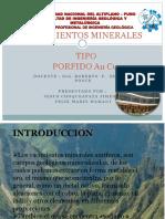 Tema 7 Yacimientos Minerales Au Jesus Choke ...