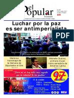 El Popular 405 Órgano de Prensa Oficial del Partido Comunista de Uruguay