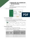 Guía de Elaboración Del Ranking de Notas en Excel