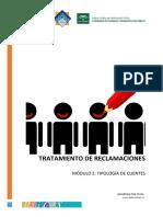 Modulo 2. Tipología de Clientes