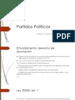 COFRÉ, L. 2017. Partidos Políticos