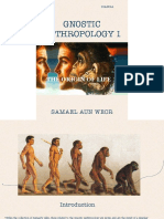 Gnostic Anthropology Vol 1