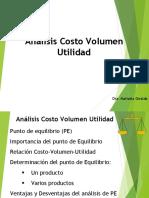 Clase Costo Volumen Utilidad