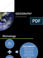01.01 Geography as a Science