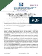 Mitigating Manuscript E61010645