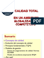 Calidad Total  en un ambiente Globalizado y Competitivo