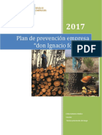Plan Prevencion Forestal Porafolio