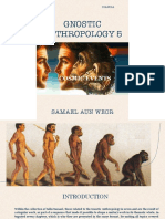 Gnostic Anthropology Vol 5