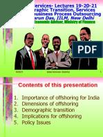 Global Services-21 Prof. Tarun Das, IILM, New Delhi