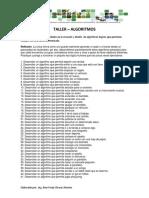 Taller Practico - Algoritmos