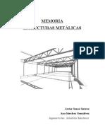Memoria Estructuras Metalicas