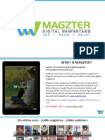 Magzter Publisher Presentation
