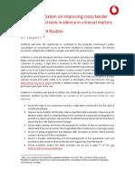 VF Contribution E-evidence Consultation FINAL