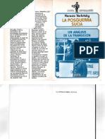 Verbitsky, Horacio - La Posguerra Sucia. Un Análisis de La Transición, Legasa, 1985