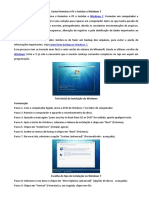 Como Formatar o PC e Instalar o Windows 7