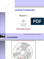 Module 09.1 - Groundwater