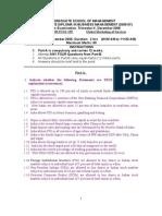 Global Services- End Term Question Paper-2