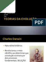 Teorias Da Evolução - Darwin